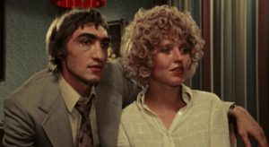 Jochen (Gottfried John) and Marion (Hanna Schygulla), the couple at the centre of Rainer Werner Fassbinder's Eight Hours Don't Make a Day (1972-3)