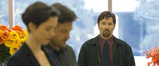 A figure from the past is about to disrupt a seemingly comfortable middle-class existence in Joel Edgerton's The Gift (2015)