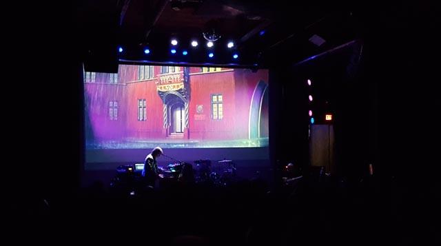 Claudio Simonetti performing the score of Dario Argento's Suspiria (1977) live in Winnipeg: the Tanz Academie ...