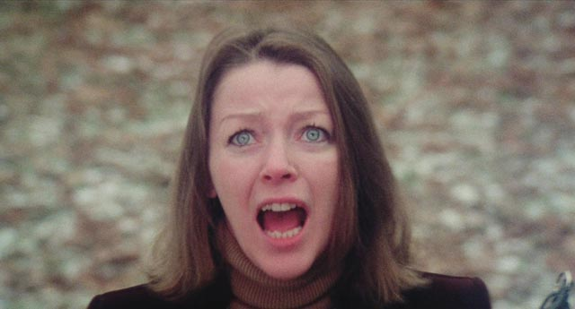 It's all more than Cathy's Mom (Beverly Murray) can bear in Eddy Matalon's Cathy's Curse (1976)