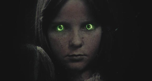 The haunted portrait in the attic in Eddy Matalon's crazy Cathy's Curse (1976)