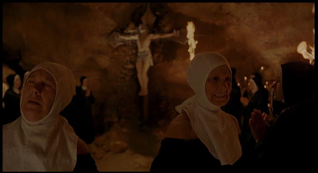 Unorthodox nuns practice sinister rites beneath a remote convent in Mariano Baino's Deep Waters (1994)