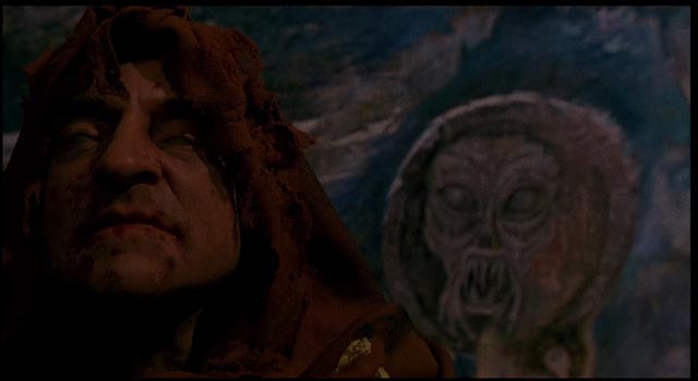 ... and the painter of occult icons in Mariano Baino's Dark Waters (1994)
