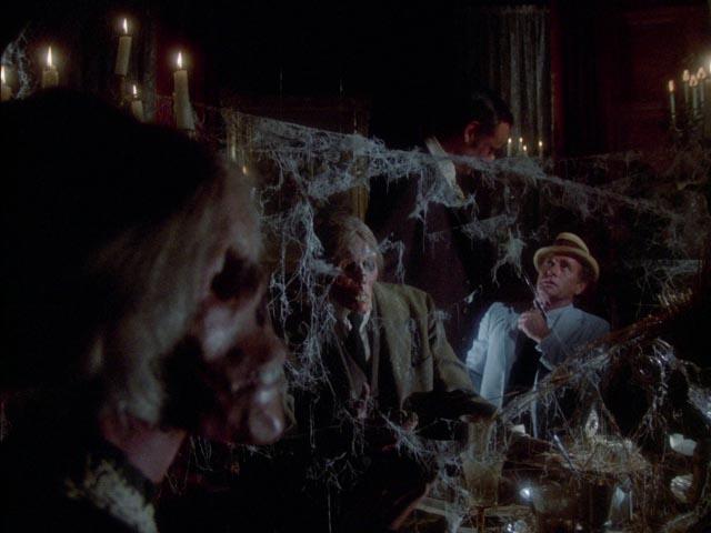 Kolchak (Darren McGavin) confronts an immortal killer (Richard Anderson) beneath Seattle's streets in Dan Curtis' The Night Strangler (1973)