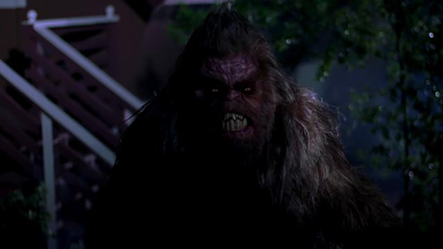 Sasquatch is a relentless predator in Ryan Schifrin's Abominable (2005)