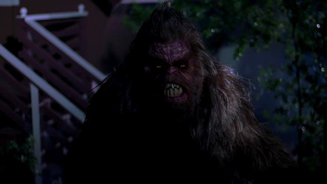 Sasquatch is a relentless predator in Ryan Schifrin's Abominable (2005)