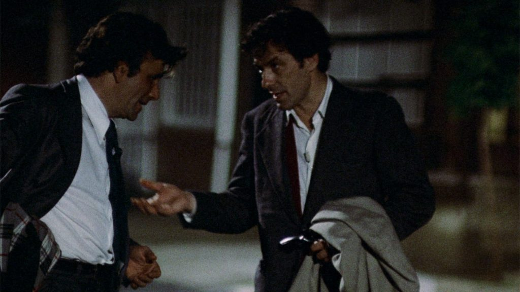 Suspicion, guilt and betrayal shatter the tenuous bonds of a lifelong friendship in Elaine May's Mikey and Nickey (1976)
