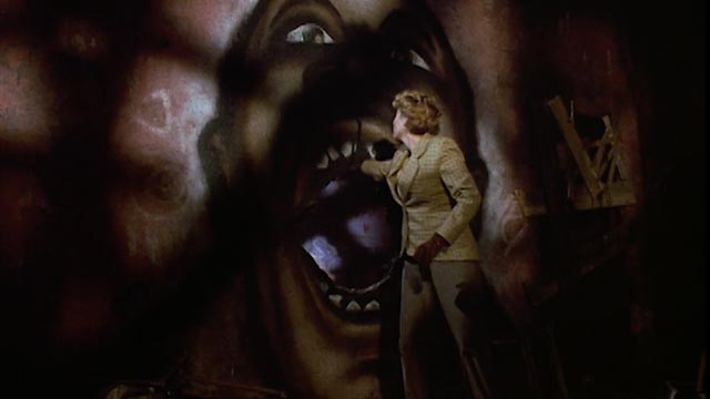 Helen Lyle (Virginia Madsen) enters the monster's lair in Bernard Rose's Clive Barker adaptation Candyman (1992)