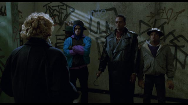 The prying of a middle class white woman is resented by the residents of Cabrini-Green in Bernard Rose's Clive Barker adaptation Candyman (1992)