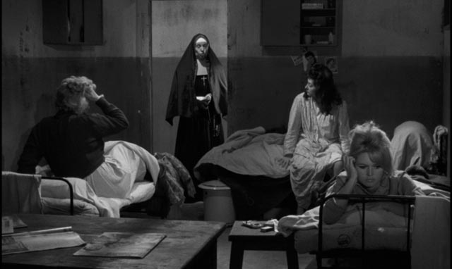 Dominique (Brigitte Bardot) is woken on the morning of her trial in Henri Georges Clouzot's La verite (1960)