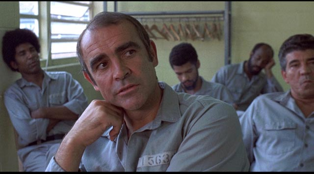Duke Anderson (Sean Connery) seethes with resentment as he waits for his release from prison in Sidney Lumet's The Anderson Tapes (1971)