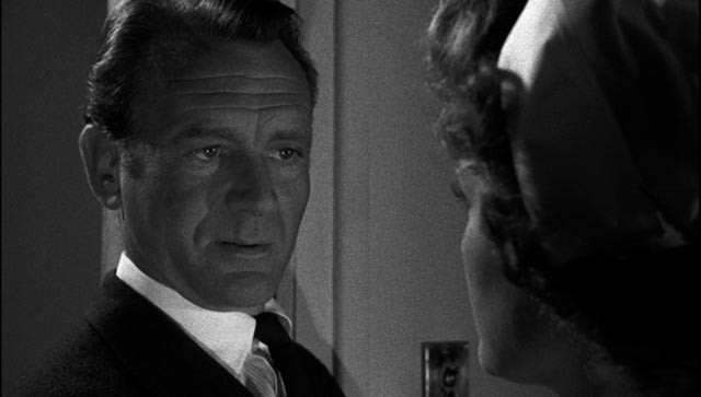 Supt. Mike Halloran (John Mills) has a chip on his shoulder about class in John Guillermin's Town on Trial (1957)