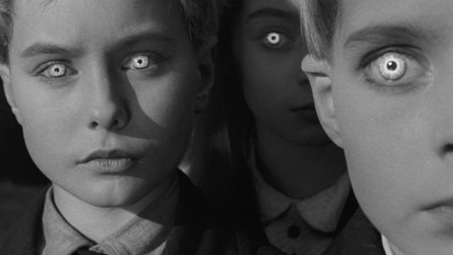 Scary kids: alien offspring threaten England in Wolf Rilla's Village of the Damned (1960)