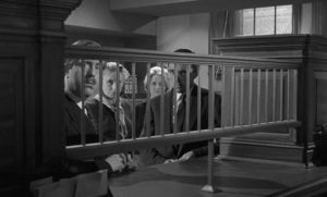 The bank staff become aware that their despised manager is in trouble in Quentin Lawrence's Cash on Demand (1961)