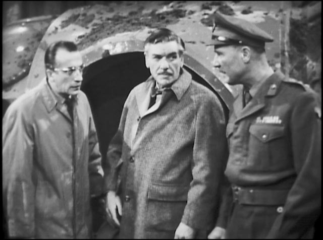 The Kinescope sections of Nigel Kneale's Quatermass and the Pit (1944) serial lack the clarity and sharpness of the film transfer material