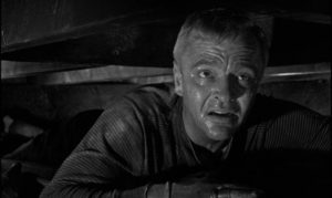 Paul (Peter van Eyck) is trapped by his own cleverness when he attempts one murder too many in Guy Green's The Snorkel (1958)