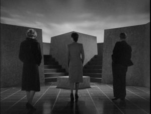 A random group of people find themselves in an alternate reality in Basil Dearden's They Came to a City (1944)