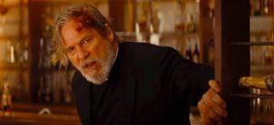 Jeff Bridges as the fake Father Daniel Flynn in Drew Goddard's Bad Times at the El Royale (2018)