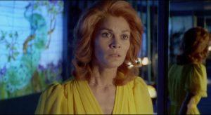 Alice (Florinda Bolkan) investigates her own past to uncover missing memories in Luigi Bazzoni's Le orme (1975)
