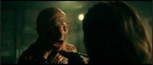 An experimental serum revives and mutates dead soldiers in Julius Avery's Overlord (2018)