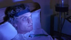 A little thing like a coma can't prevent Patrick (Robert Thompson) wreaking havoc in Richard Franklin's Patrick (1978)