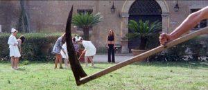 Death haunts a private psychiatric clinic in Fernando Di Leo's Slaughter Hotel (1971)