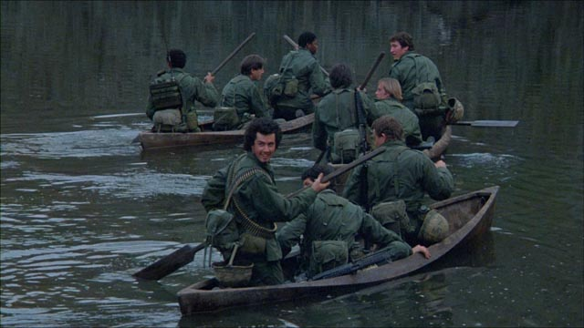Panic sets in when a sense of invincibility is suddenly shattered in Walter Hill's Southern Comfort (1981)
