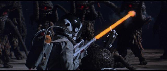Be scared or laugh? Walking alien slime mold in Kinji Fukasaku's The Green Slime (1968)