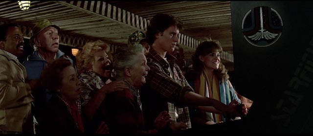 Once upon a time people were impressed by arcade game playing: Nick Castle's The Last Starfighter (1984)
