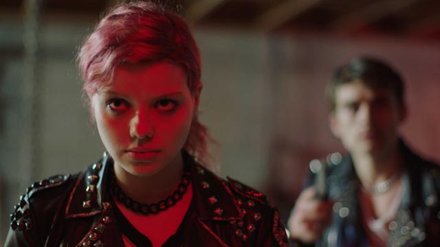 Punk Chelsea (Chloë Levine) leads her friends back to the site of childhood trauma in Jenn Wexler's The Ranger (2018)