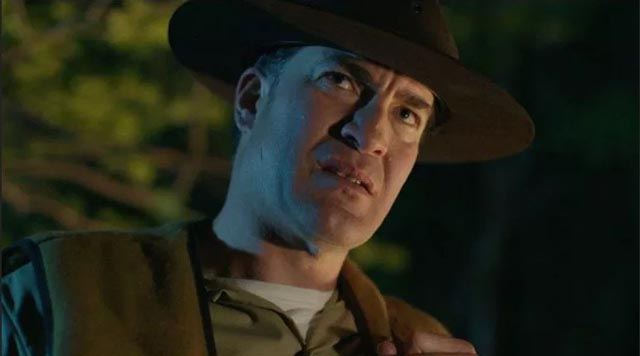 The Ranger (Jeremy Holm) enforces park rules with extreme prejudice in Jenn Wexler's The Ranger (2018)