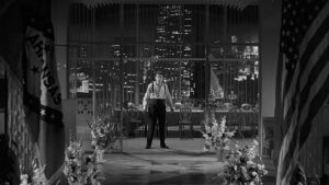 Like Charles Foster Kane, Lonesome Rhodes finds his power and wealth turning to ashes in Elia Kazan's A Face in the Crowd (1957)