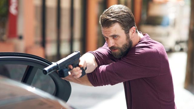 Mel's son Milo Gibson plays a CIA assassin in Matthew Hope's All the Devil's Men (2018)