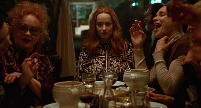 Susie (Dakota Johnson) assumes her rightful place among the witches in Luca Guadagnino's Suspiria (2018)