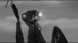The title menace in Nathan Juran's cheesily enjoyable The Deadly Mantis (1957)