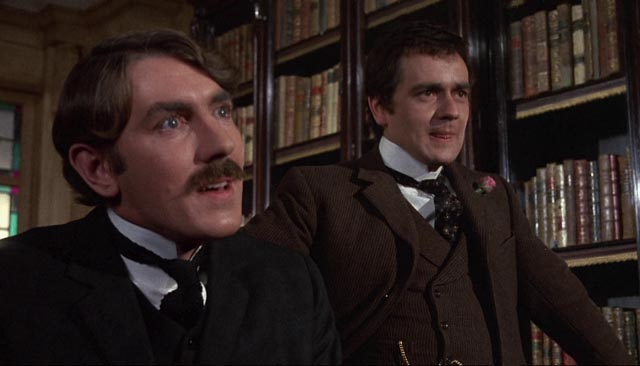 Peter Cook and Dudley Moore as the venal Finsbury brothers Morris and John in Bryan Forbes' The Wrong Box (1966)