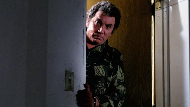Giallo veteran Cameron Mitchell lurks around an L.A. apartment complex in Dennis Donnelly's The Toolbox Murders (1978)