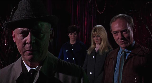 Looking for thrills at a sideshow, patrons learn unpleasant truths in Freddie Francis' Torture Garden (1967)