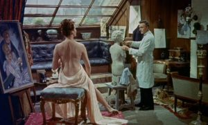 Hammer pushes the boundaries of censorship at the end of the 1950s in Terence Fisher's The Man Who Could Cheat Death (1959)