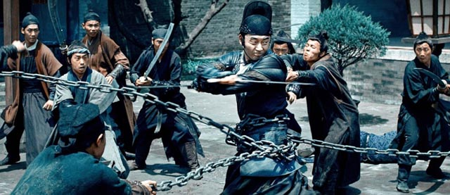 Stylish combat in Lu Yang's Brotherhood of Blades (2014)