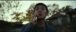 Life is confusing for Lee Jong-su (Yoo Ah-in) in Lee Chang-dong Burning (2018)