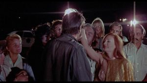 Grace (Brooke Mills) lays hands on the sick in John Hayes' Dream No Evil (1972)