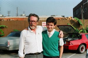 McGoohan with neophyte documentary director Chris Rodley