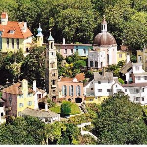 The Prisoner was inspired by the artificial village Portmeirion in Wales
