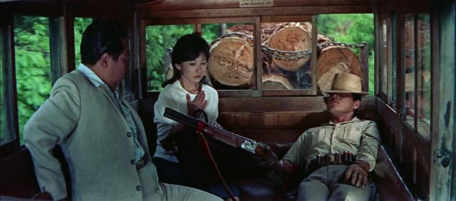 Modeled on spaghetti western heroes, a mysterious man comes to right wrongs in Seijun Suzuki's The Man with a Shotgun (1961)