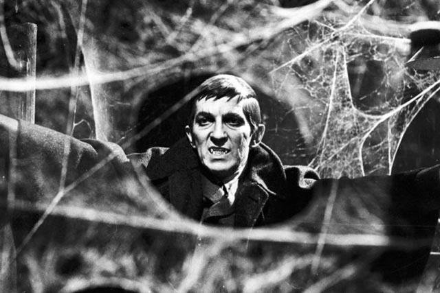 Jonathan Frid as the famous vampire Barnabus Collins in Dan Curtis' Dark Shadows (1966-71)