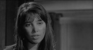 Janet Margolin as the Jewish refugee Esther in Bernhard Wicki's Morituri (1965)