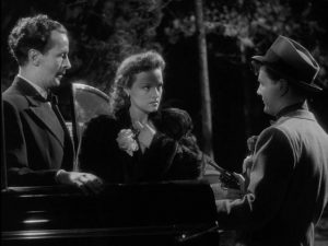 Heiress kidnapped by petty thugs: Linden Travers in St. John L. Clowes' No Orchids for Miss Blandish (1948)