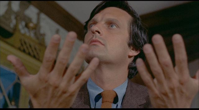 Failed musician turned journalist Myles Clarkson (Alan Alda) receives unexpected interest from famed pianist Duncan Ely (Curt Jurgens) in Paul Wendkos' The Mephisto Waltz (1971)