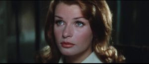 School teacher Inge Lindt (Senta Berger) works towards a new Germany in Michael Anderson's The Quiller Memorandum (1966)